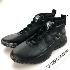 Adidas Dame 5 Black Basketball Shoes New